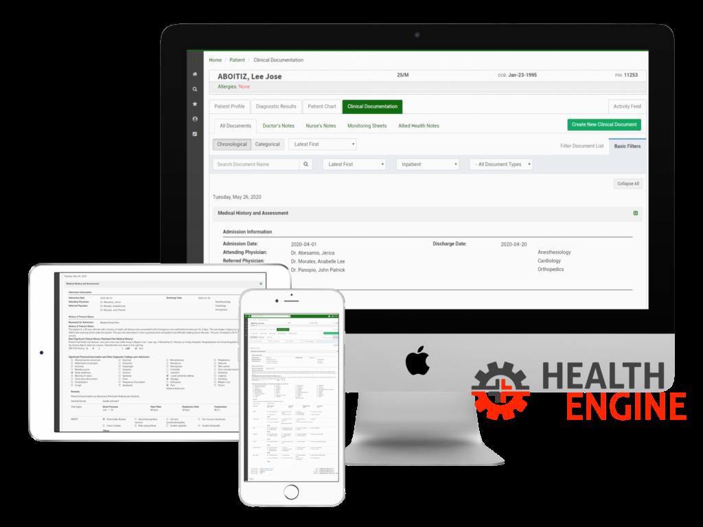 Health Engine Screenshots