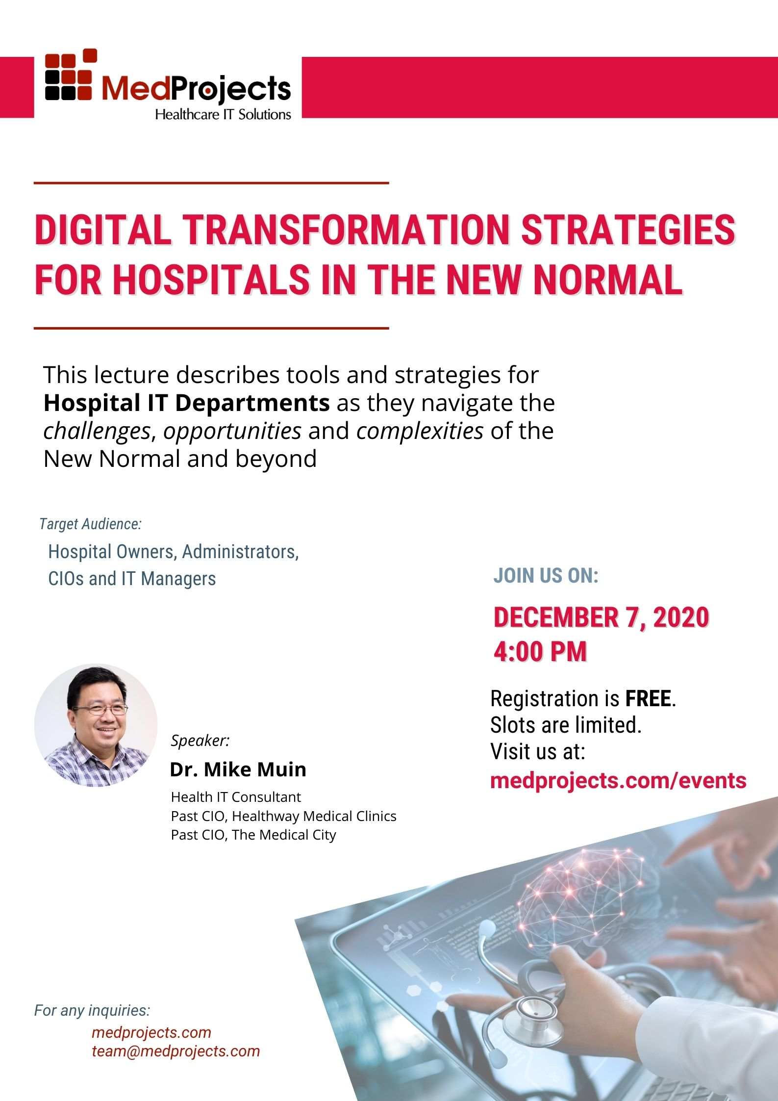 Digital Transformation Strategies for Hospitals in the New Normal